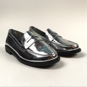 Cole Haan Pinch Penny Loafer Maine Classic Silver